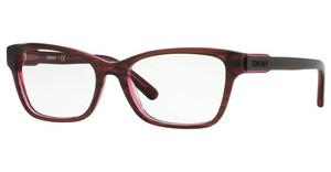 DKNY DY4650 3655 RED ON RED TRANSP