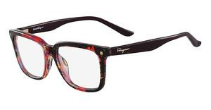 Salvatore Ferragamo SF2685 628 MACULATE RED