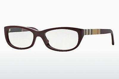 Designerbrillen Burberry BE2167 3403 - Rot, Bordeaux