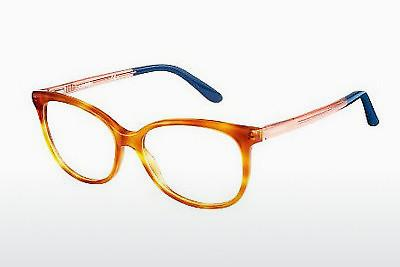 Designerbrillen Carrera CA6648 QKX - Orange, Braun, Havanna