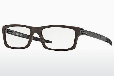 Designerbrillen Oakley CURRENCY (OX8026 802602) - Schwarz, Flint