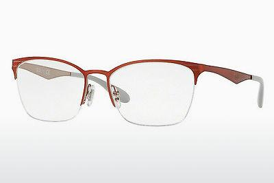 Designerbrillen Ray-Ban RX6345 2921 - Rot