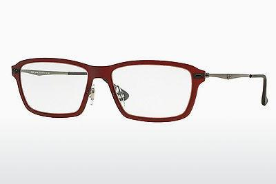 Designerbrillen Ray-Ban RX7038 5456 - Rot