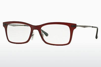 Designerbrillen Ray-Ban RX7039 5456 - Rot
