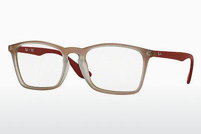 Designerbrillen Ray-Ban RX7045 5485 - Rot