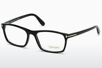 Designerbrillen Tom Ford FT5295 001 - Schwarz, Shiny