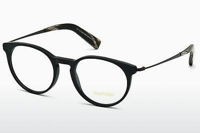 Designerbrillen Tom Ford FT5383 002 - Schwarz, Matt