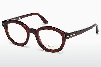 Designerbrillen Tom Ford FT5460 054 - Rot, Braun, Havanna