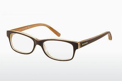 Designerbrillen Tommy Hilfiger TH 1018 GYB - Orange, Braun