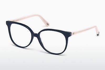 Designerbrillen Web Eyewear WE5199 090 - Blau, Shiny
