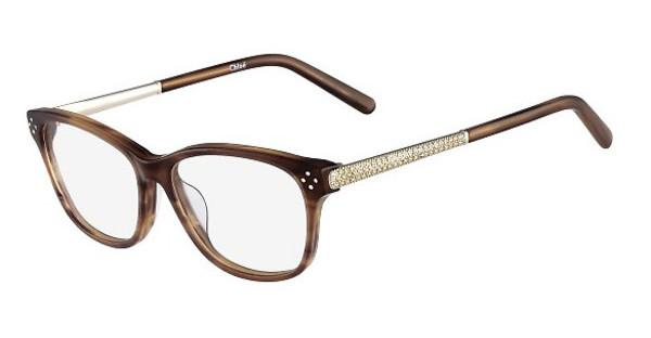 Chloé CE2653R 282 STRIPED BROWN