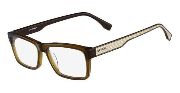 Lacoste L2721 210 OLIVE BROWN