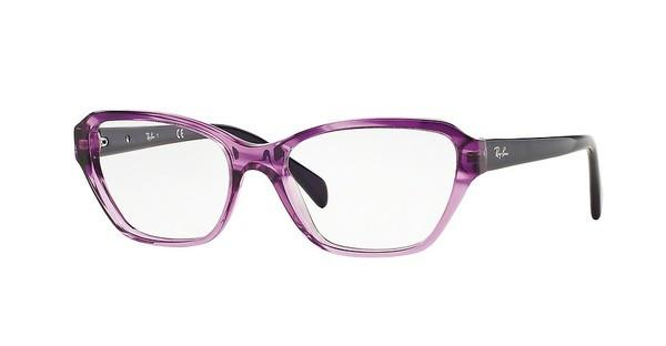 Ray-Ban RX5341 5570 STRIPED GRADIENT VIOLET