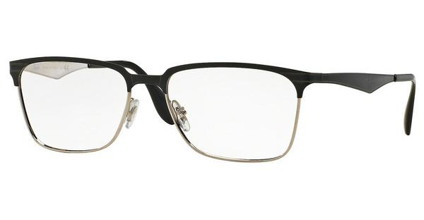 Ray-Ban RX6344 2861 TOP BLACK ON SILVER