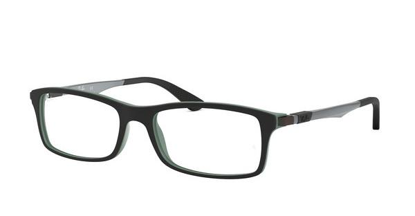 Ray-Ban RX7017 5197 TOP BLACK ON GREEN