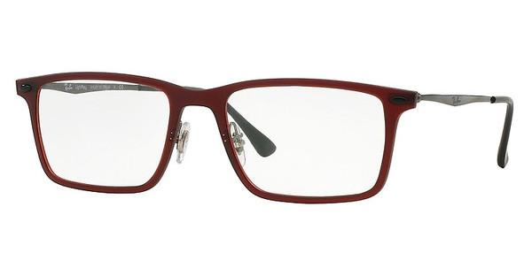 Ray-Ban RX7050 5456 DARK MATTE RED