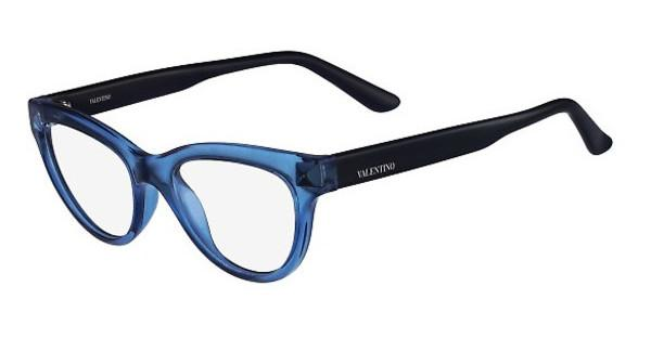 Valentino V2683 419 TRANSPARENT BLUE