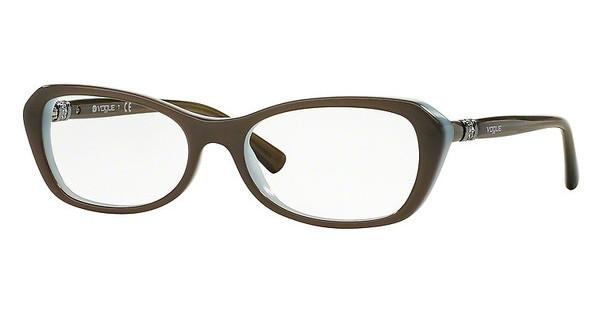 Vogue VO2960B 2322 MUD GREEN/OPAL AZURE