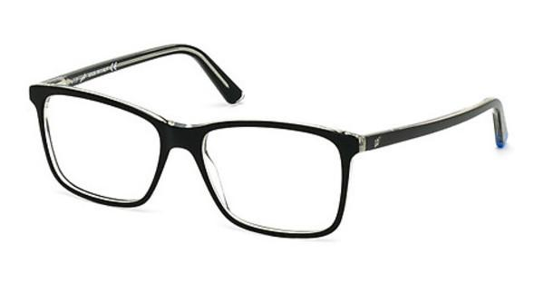 Web Eyewear WE5172 003 schwarz/kristall