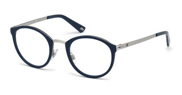 Web Eyewear WE5193 017 palladium matt