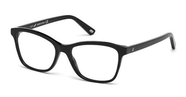 Web Eyewear   WE5200 001 schwarz glanz