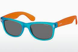 Sonnenbrille Polaroid Kids P0115 89T/Y2 - Blau, Orange