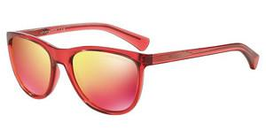 Emporio Armani EA4053 53776Q RED MULTILAYERTRANSPARENT CORAL