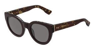 Jimmy Choo EDA/S J3P/6P BROWN FL GOLDBRW SPTTD (BROWN FL GOLD)