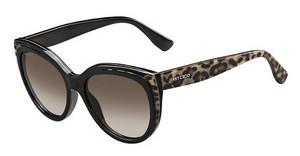 Jimmy Choo NICKY/S PUE/J6 BROWN SFANIMAL BK (BROWN SF)