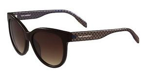 Karl Lagerfeld KL907S 020 SHINY BROWN