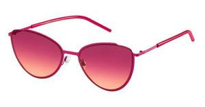 Marc Jacobs MARC 33/S FSK/V5 BURGUNDY ORANGEFUCHSIA (BURGUNDY ORANGE)