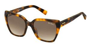 Max Mara MM SHADED I 05L/JD BROWN SFHAVANA (BROWN SF)