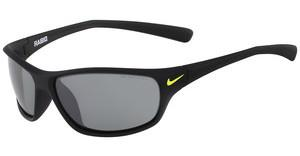 Nike RABID EV0603 007 MATTE BLACK/VOLT WITH GREY W/SILVER FLASH LENS