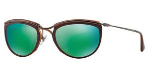Persol PO3082S 1006O7 BROWN MIRROR GREENTOP RED/MATTE HAVANA