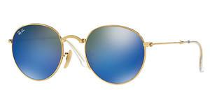 Ray-Ban RB3532 001/68 GREEN MIRROR BLUEGOLD