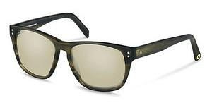 Rocco by Rodenstock RR307 C titanium mirror - 66%olive structured