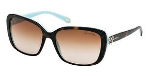 Tiffany TF4092 81343B BROWN GRADIENTHAVANA/BLUE