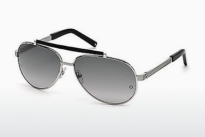 Sonnenbrille Mont Blanc MB454T 16B - Silber, Shiny, Grey