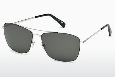 Sonnenbrille Mont Blanc MB594S 16A - Silber, Shiny, Grey