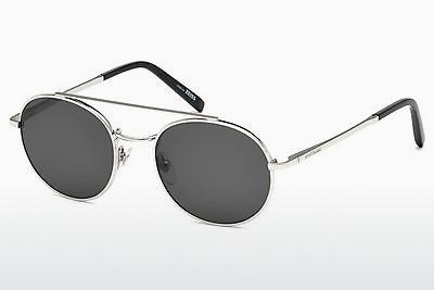 Sonnenbrille Mont Blanc MB604S 16A - Silber, Shiny, Grey