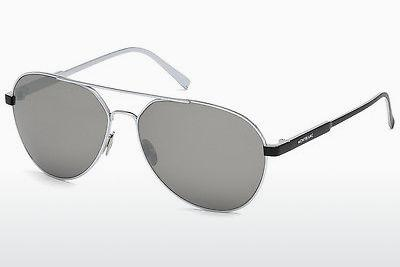 Sonnenbrille Mont Blanc MB644S 16C - Silber, Shiny, Grey