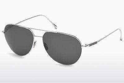 Sonnenbrille Mont Blanc MB657S 16A - Silber, Shiny, Grey
