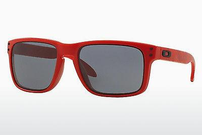 Sonnenbrille Oakley HOLBROOK (OO9102 910283) - Rot