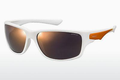 Sonnenbrille Polaroid Sports PLD 7012/S IXN/OZ - Weiß, Orange