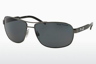 Sonnenbrille Polo PH3053 900281 - Grau, Rotguss