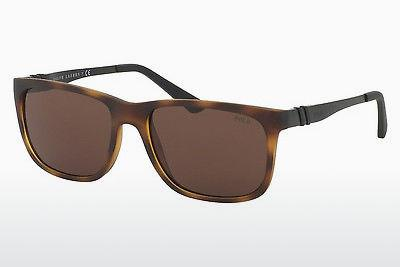 Sonnenbrille Polo PH4088 518273 - Braun, Havanna