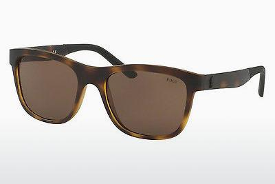 Sonnenbrille Polo PH4120 560273 - Braun, Havanna