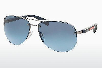 Sonnenbrille Prada Sport PS 56MS (65) (PS 56MS 5AS5I1) - Silber, Pewter