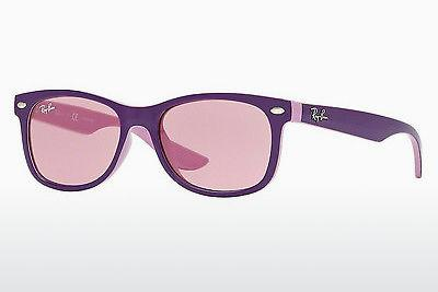 Sonnenbrille Ray-Ban Junior RJ9052S 179/84 - Purpur, Rosa