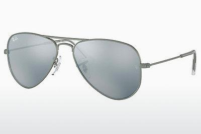 Sonnenbrille Ray-Ban Junior RJ9506S 250/30 - Grau, Rotguss